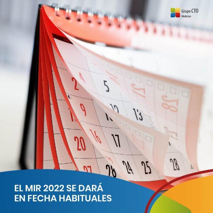 EL MIR 2022 se dará en fechas habituales